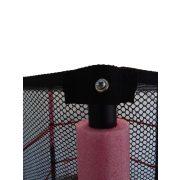 Capetan® Kiddy Jump 140cm trambulin védőhálóval és alsó biztonsági védőszoknyával, baby beltéri trambulin