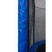 Capetan® Exit 244cm átm  védőhálós trambulin - kisgyermekekre optimalizált alacsony ugrálófelületmagasságú kivitel