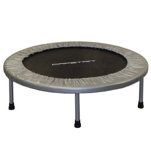 Capetan® Fit Fly Silver 97cm szobai trambulin 100 kg terhelhetőség, premium kategóriás rugóvédő