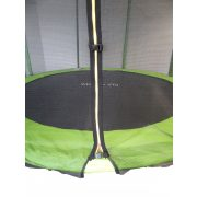 Capetan® Safe Fly extra stabil íves lábú 251cm átm. premium biztonsági trambulin védőhálóval