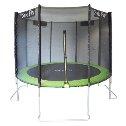Capetan® Safe Fly extra stabil lábú premium biztonsági trambulin védőhálóval 366 cm átmérővel