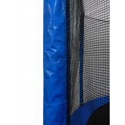 Trambulin szett 250cm átmérővel, létrával, 150Kg terhelhetőséggel, 54db rugóval gyerekeknek optimalizált magasság