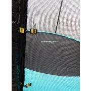 Capetan® Selector 366 cm átm.extra váz rögzítő T elemmel megerősített szerkezetű kiemelkedően magas védőhálós trambulin  - kültéri prémium trambulin vastag szivaccsal