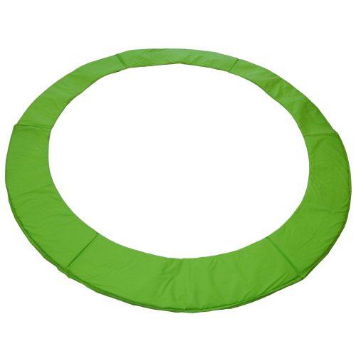 Capetan® 305cm átm. Lime Zöld színű PVC trambulin rugóvédő 20mm vastag  szivacsozású, 26 cm széles szrugóvédő felület 23-24 cm széles belső szivacsozással