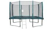 Szögletes védőhálós trambulin